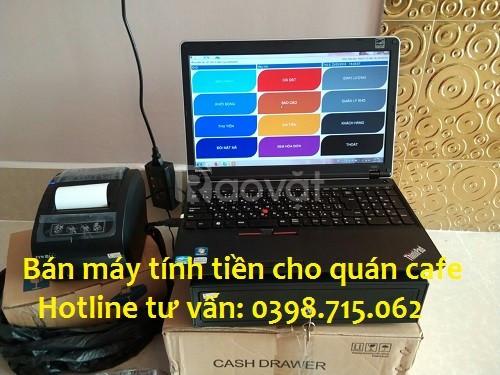 Lắp đặt máy tính tiền giá rẻ cho quán cafe tại Hậu Giang