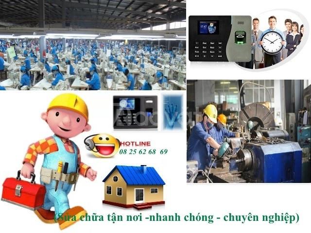 Máy chấm công vân tay giá rẻ tại Quận Tân Phú