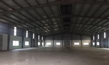 Cho thuê kho xưởng DT 1600m2 KCN Đại Đồng, Tiên Du, Bắc Ninh