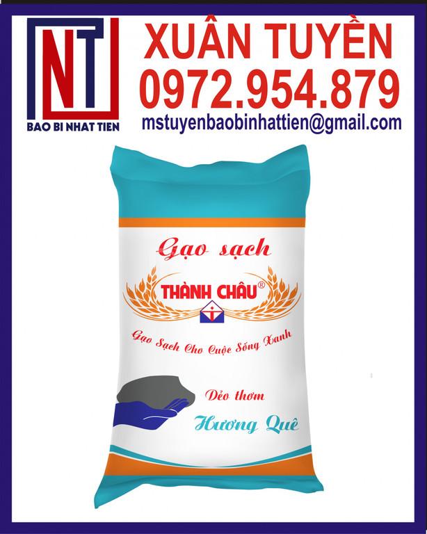 Cung cấp bao đựng gạo in ống đồng