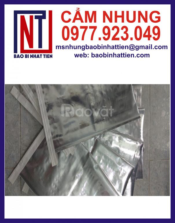 Bao PP dệt ghép màng metalize đựng thuốc thủy sản (ảnh 1)