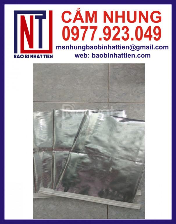 Bao PP dệt ghép màng metalize đựng thuốc thủy sản (ảnh 5)