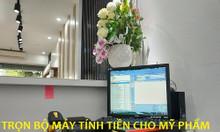 Lắp đặt máy tính tiền cho shop mỹ phẩm, phụ kiện giá rẻ tại An Giang