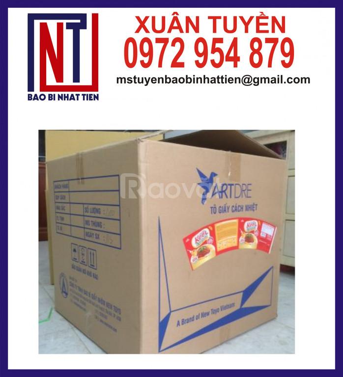 Sản xuất thùng carton tại TP.HCM