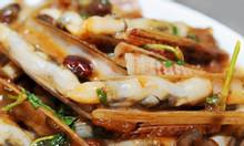 Ốc móng tay xào me - món ăn ngon, bổ dưỡng ở Định Công, Hoàng Mai