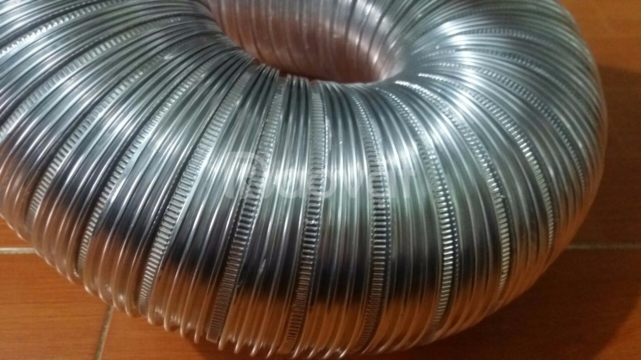 Chuyên cung cấp ống gió mềm chịu nhiệt ( ống nhôm nhún - ống bạc mềm)