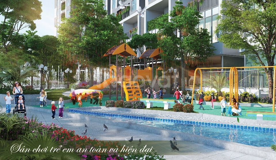 Bán căn hộ 3pn đường Minh Khai với khu vườn chân mây độc đáo