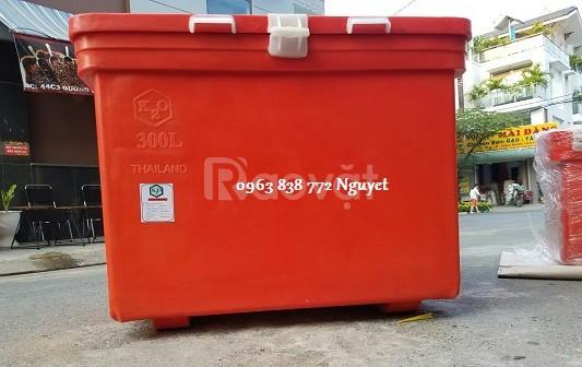 Thùng đá 200L - thùng giữ lạnh 100L - bán thùng đá giá rẻ
