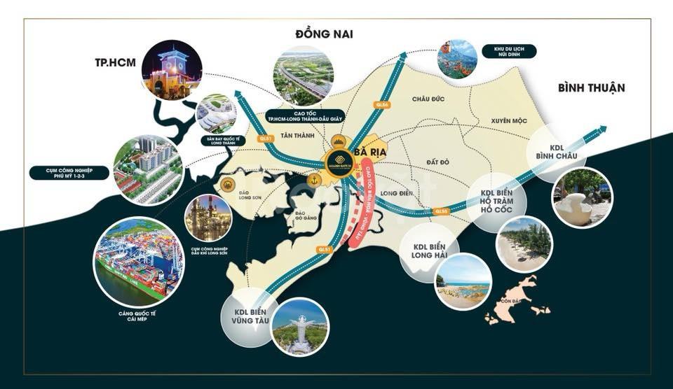 Seaway Bình Châu Hồ Tràm chỉ 700tr nền đặt chỗ ngay