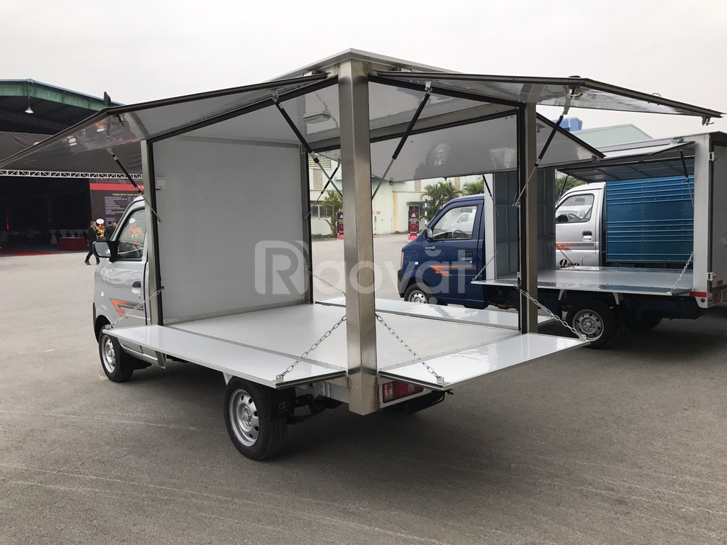 Mua xe tải Dongben 870kg thùng cánh dơi trả góp ở đâu giá tốt?