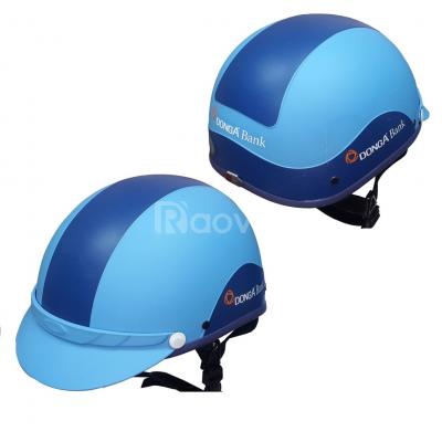 Sản xuất mủ bảo hiểm Đà Nẵng, in ấn thông tin theo yêu cầu