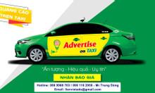 Dán quảng cáo trên xe ô tô