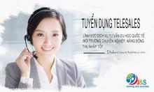 Tuyển gấp nhân viên Telesales (chăm sóc khách hàng qua điện thoại)