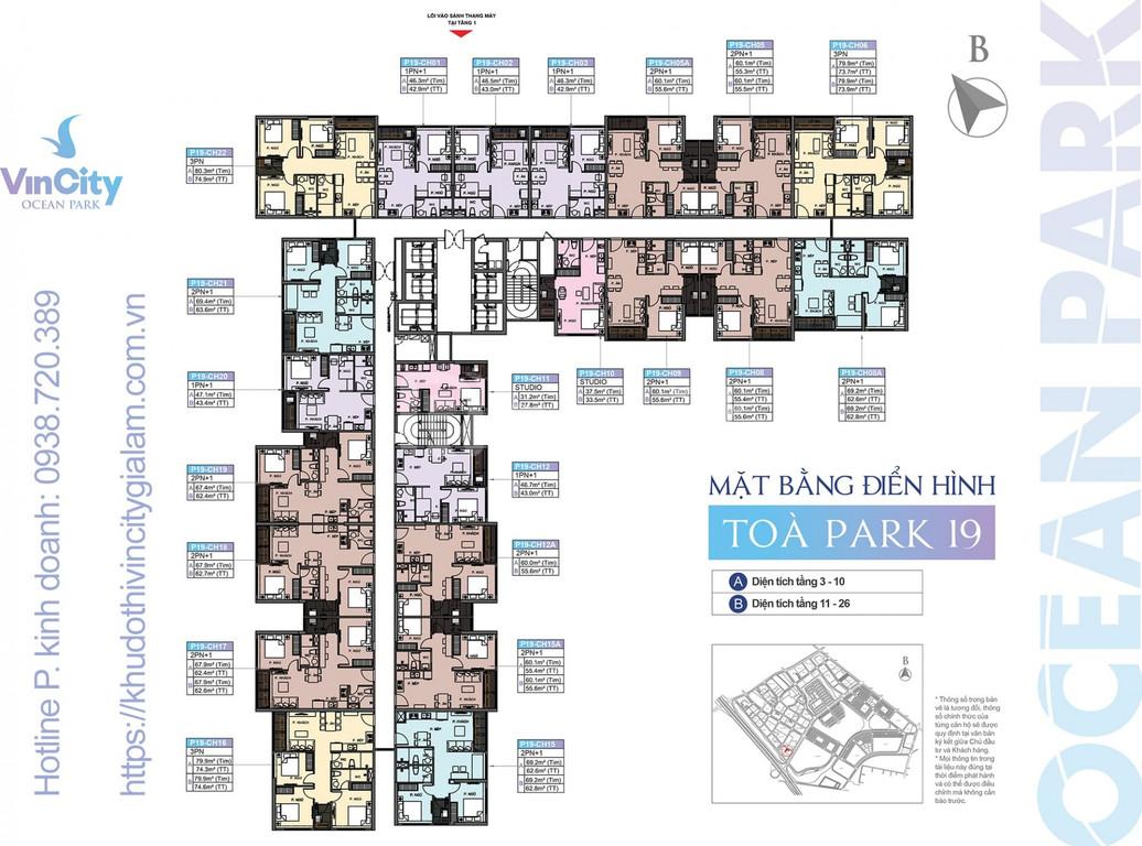 Chính chủ cần bán gấp căn P190508A Vincity Ocean Park Gia Lâm (ảnh 3)