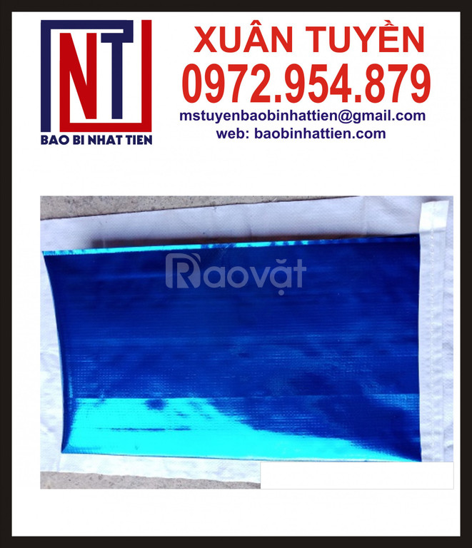 Công ty cung cấp bao PP dệt ghép màng metalize