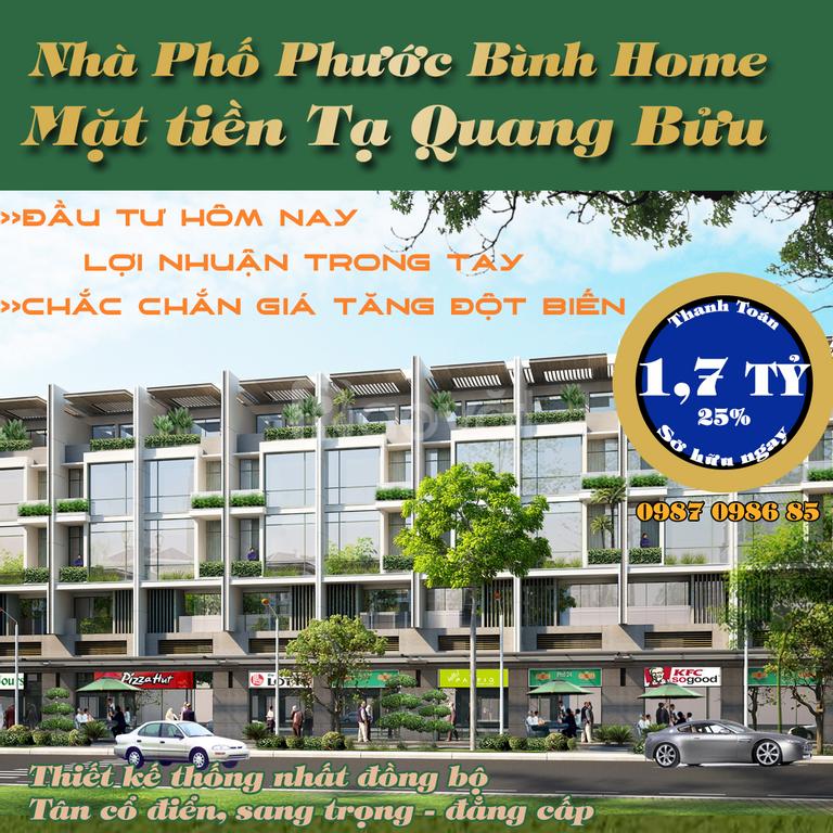 Nhà phố liền kề Phạm Hùng