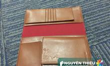 Thiết kế ví da passport quà tặng, may ví da giá rẻ ở tp.HCM