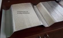 Mút xốp cán bạc cách nhiệt PE OPP trơn