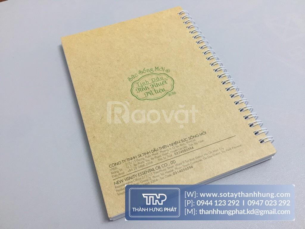 In sổ tay quà tặng | In sổ tay giá rẻ | Xưởng in sổ tay uy tín