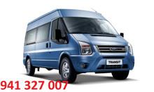 Ford Transit 16 chỗ, giao xe ngay, hỗ trợ vay vốn
