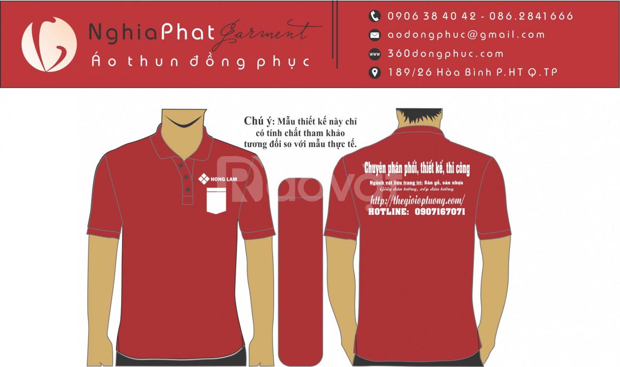 Áo thun đồng phục tại TPHCM