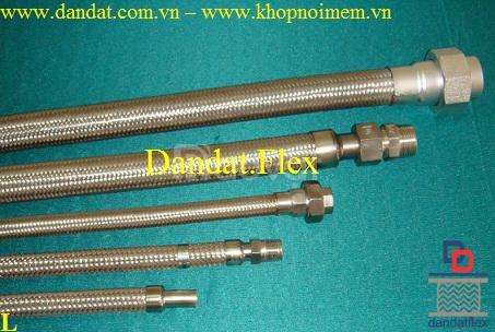Ống mềm inox phi 49, khớp chống rung inox, khớp nối inox 304