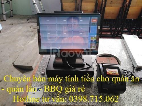 Chuyên bán máy tính tiền giá rẻ tại Sóc Trăng cho quán nướng