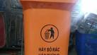 Thùng rác 60L - thùng rác công cộng 90L.  (ảnh 6)