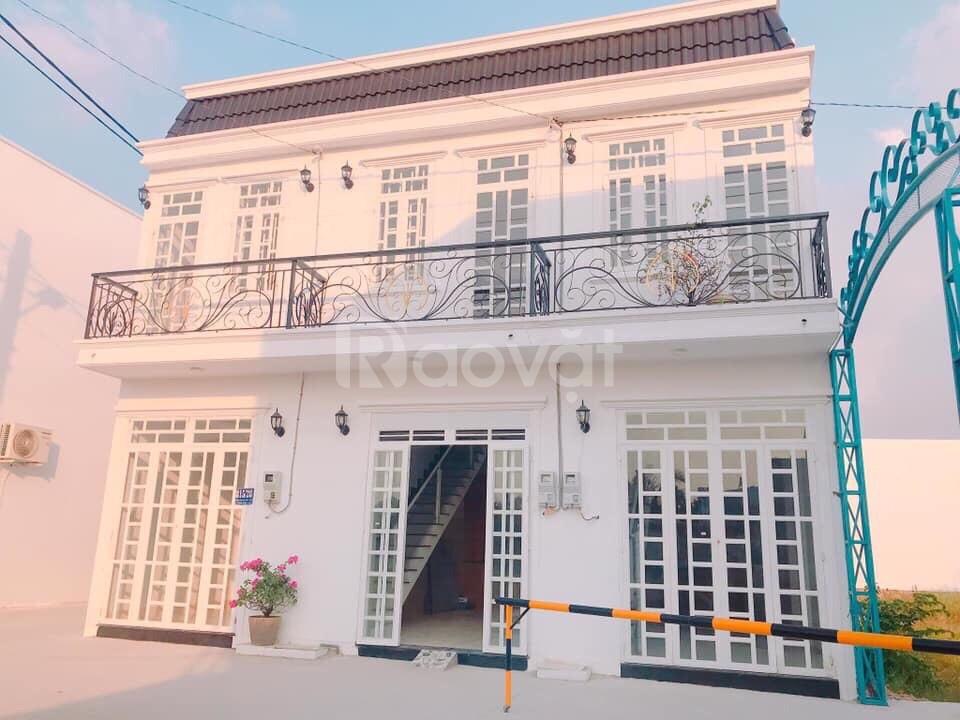 Nhà giá rẻ nhà 1 trệt 1 lầu đường Hà Huy Giáp quận 12