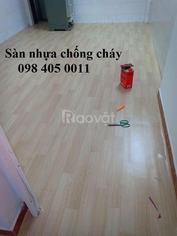 Mẫu sàn nhựa vân gỗ giá rẻ Hà Nội