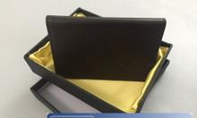 Cung cấp ví da quà tặng | May ví đựng name card theo yêu cầu