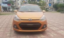 Bán Hyundai Grand i10 1.2AT màu cam 2016