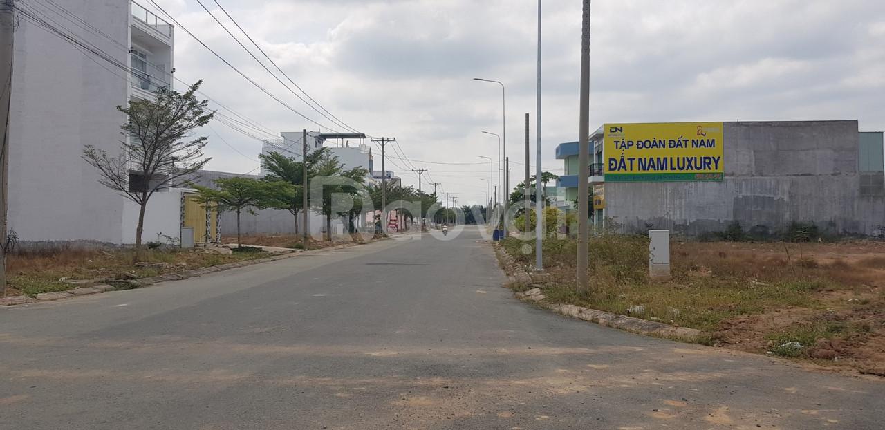 NH thanh lý 19 lô đất KDC Bình Tân, SHR, thanh toán 40% xây dựng ngay.