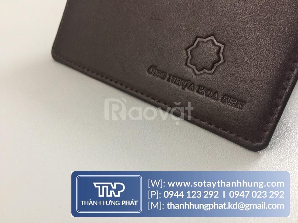 Cung cấp ví da quà tặng   May ví đựng name card theo yêu cầu