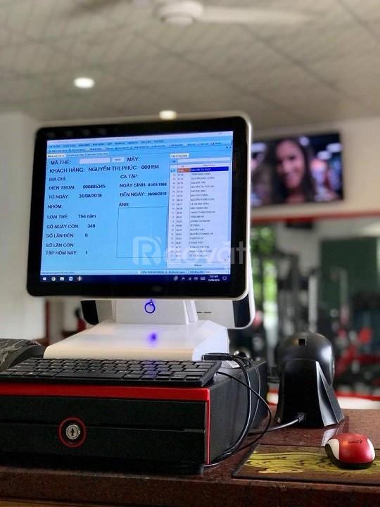 Máy tính tiền giá rẻ cho phong Gym tại Nghệ An, Hà Tĩnh