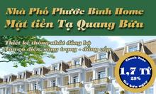 Nhà phố mặt tiền Tạ Quang Bửu Quận 8, 5x14, 5 tầng, đóng trước 1,6 tỷ