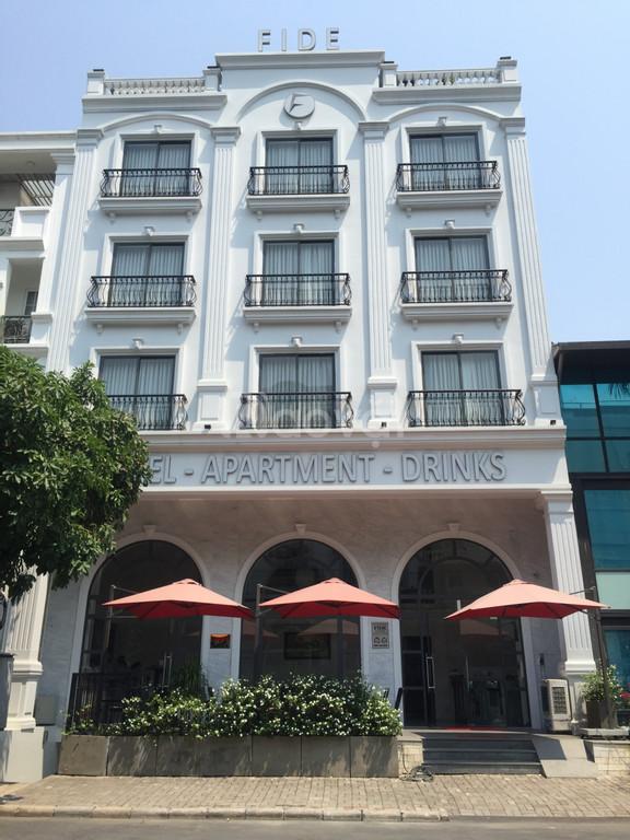 Cho thuê khách sạn 28 phòng trung tâm Phú Mỹ Hưng, Quận 7 nhà mới xây