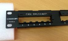 Patch Panel commscope cat6 24 cổng, thanh quản lý cáp mạng commscope