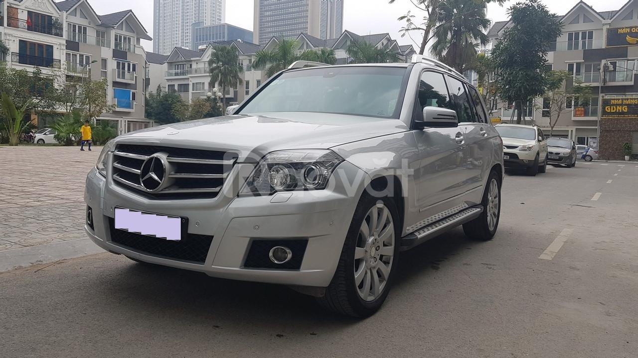 Bán Mercedes GLK 300 4matic màu bạc 2009