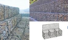Rọ đá mạ kẽm, rọ đá bọc nhựa pvc, thảm đá giá rẻ tại Hải Phòng