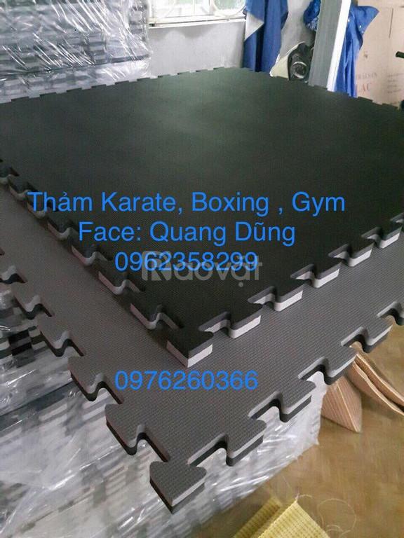 Thảm karate, boxing, gym