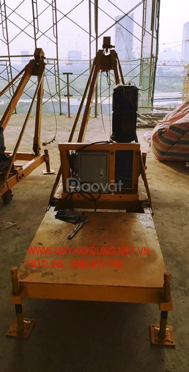 Bán bộ tời kéo téc nước nhà cao tần, tời kéo lắp kính tại HN