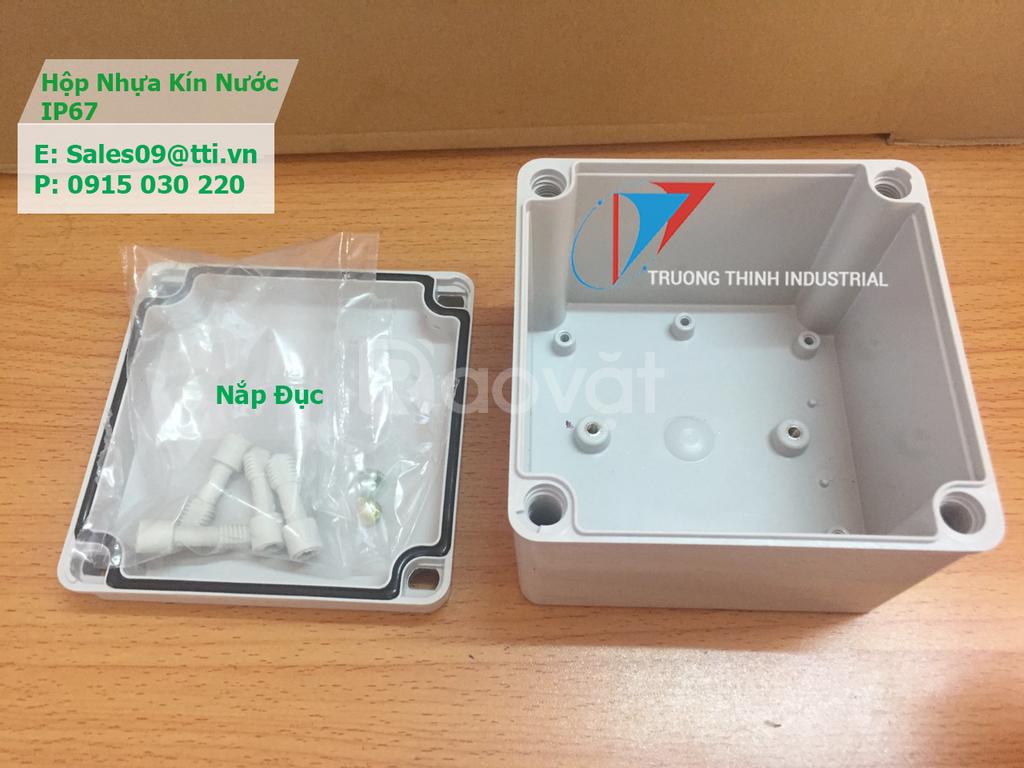 Hộp điện chống nước 60 x 90 x 55 mm IP67 nhựa ABS