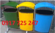 Thùng rác phân loại rác 3 ngăn