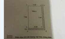 Bán nhà riêng ngõ 5 Hoàng Quốc Việt, 32m2, 5 tầng