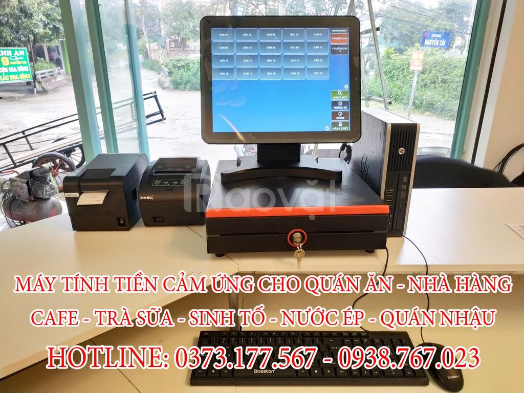 Lắp phần mềm tính tiền trọn bộ cho quán café Tại Sa Đéc Đồng Tháp
