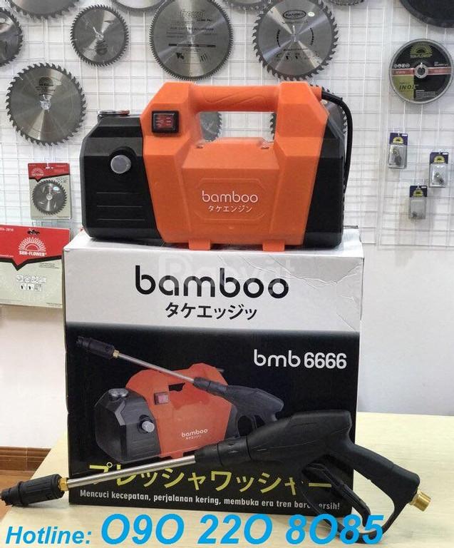 Máy rửa xe máy (xe ô tô) gia đình Bamboo 6666 giá rẻ