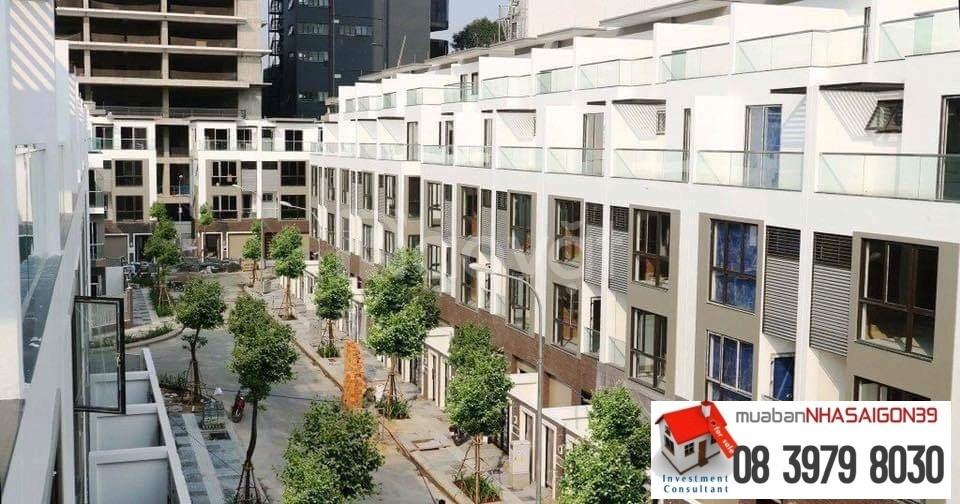 Nhà phố Quận 7 - 4 tầng - 60m²