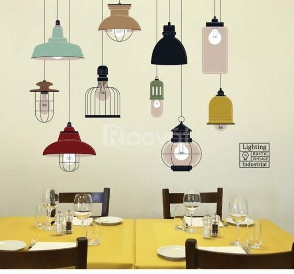 Decal dán tường trang trí phòng ngủ,quán cà phê, trà sữa Thủ Đức (ảnh 1)