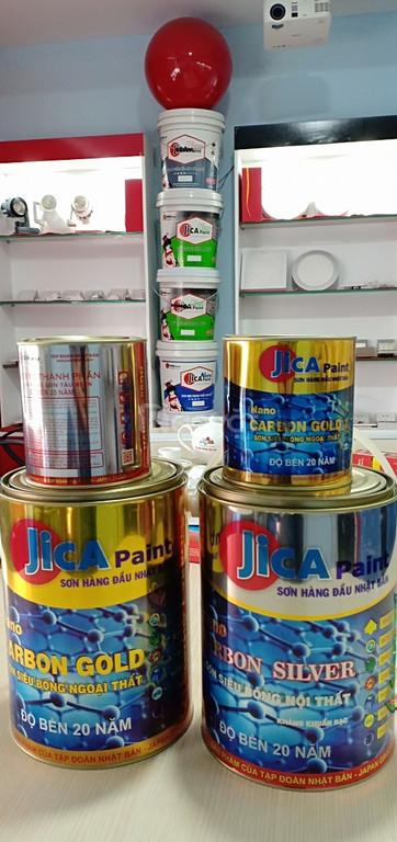 Chuyên sản xuất và bán sơn siêu bóng Epoxy Nano Carbon độ bền cao